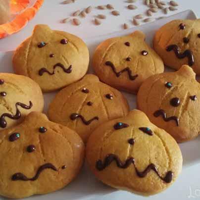 Recette biscuits halloween