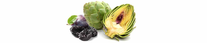 Artichaut et pruneaux sont sources de fibres
