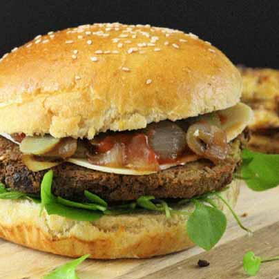 Burger super facile au tofu