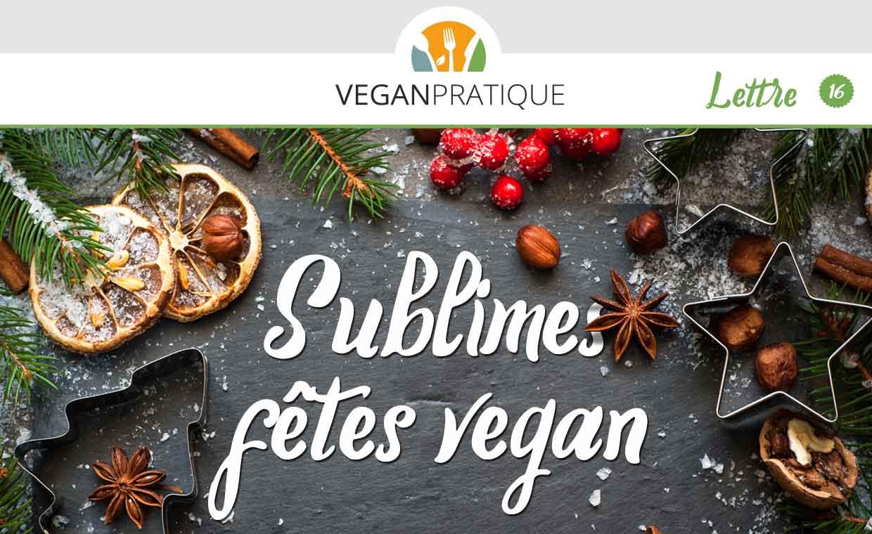 Sublimes fêtes vegan