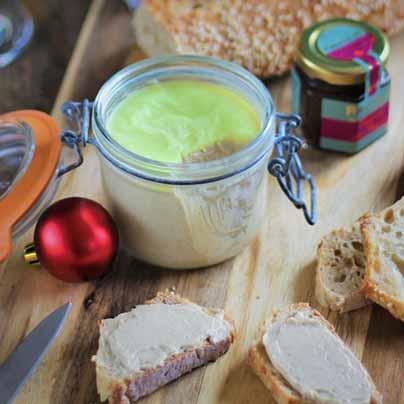 Recette terrine vegan foie gras