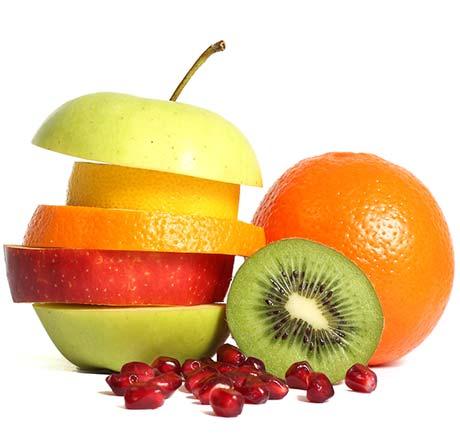 Pommes poires kiwi