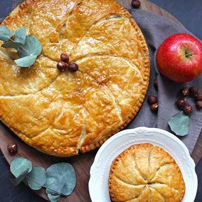 Recette galette pommes