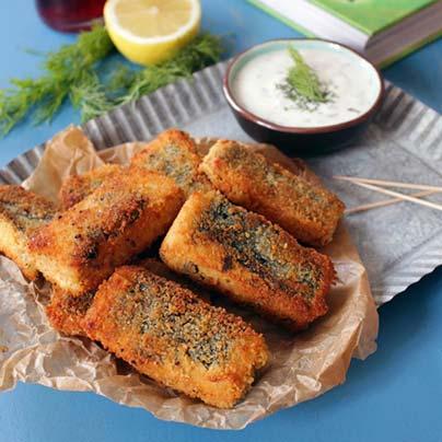 Recette bâtonnets poisson vegan