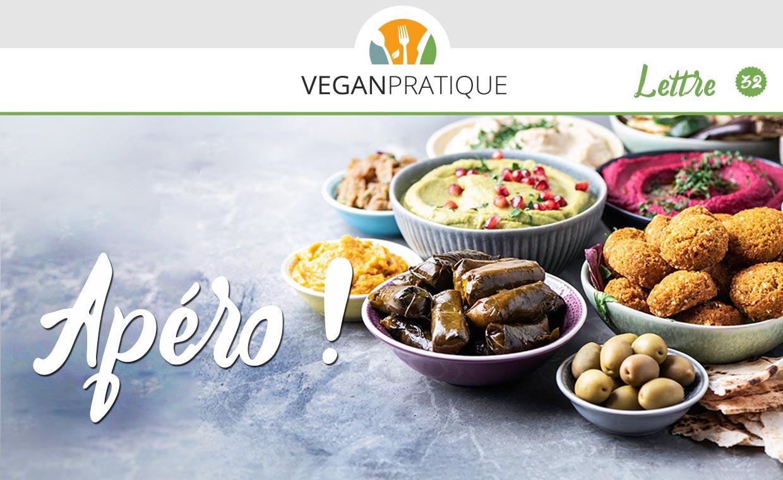 Recette d'apéro vegan